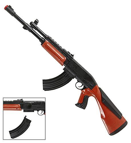 Das Kostümland Spielzeug Gewehr Kalashnikov - 75 cm