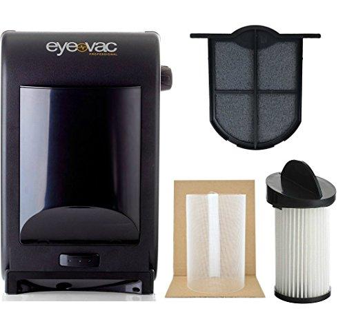 EyeVac EVPRO Tuxedo Black Professional Touchless Vacuum...