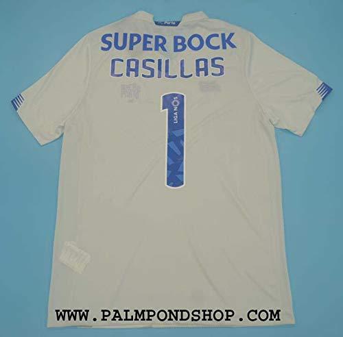 ZA Iker Casillas Porto White Soccer Jersey Trikot 2020-2021 Size XL