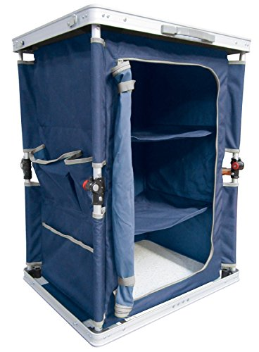 Ferrino 61789 kast vouwkast camping, blauw