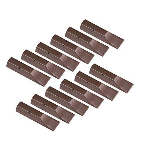 Puntas de destornillador ranurado 12PCS 1/4'Juego de puntas de destornillador magnético de cabeza plana de vástago hexagonal para destornillador de aire y eléctrico (4.0 mm)