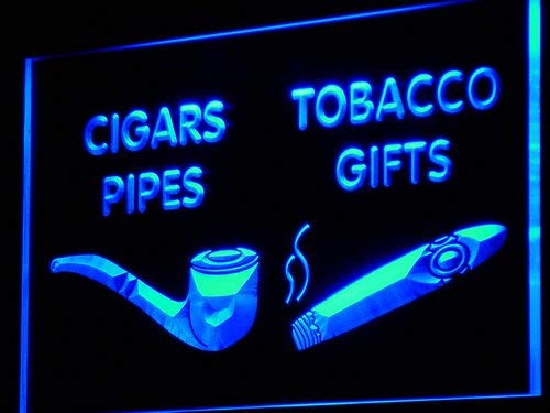 ADV PRO Enseigne Lumineuse i732-b Cigars Pipes Tobacco Gifts Shop Neon Light Sign