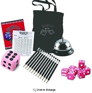 Bunco Game Kit with Crystal Bunco Tote Bag