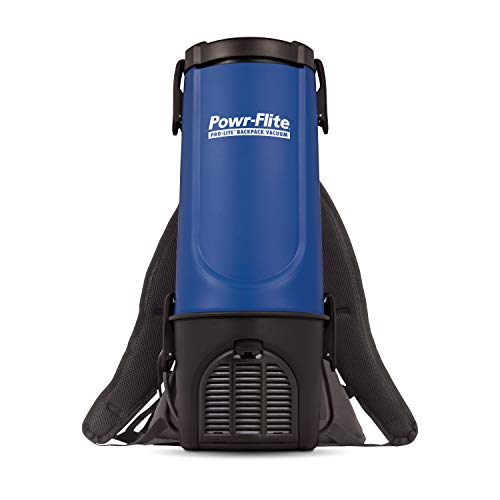 Powr-Flite Pro-Lite Corded Backpack Vacuum Cleaner Canister - Commercial Vacuum...