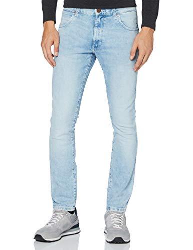 Wrangler Larston Jeans Slim, Blu (1/4 Blue 80r), 36W / 34L Uomo