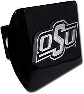 Elektroplate Oklahoma State University (OSU) Black Hitch Cover