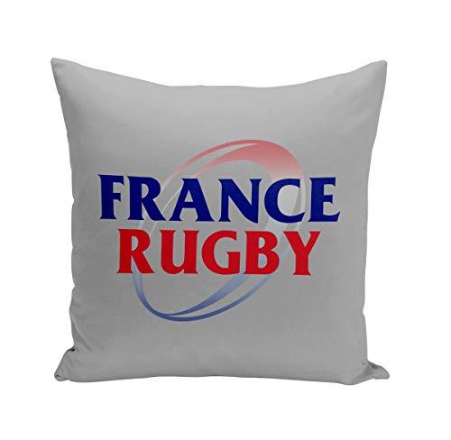 Fabulous Coussin 40x40 cm France Rugby Sport XV Ballon Team