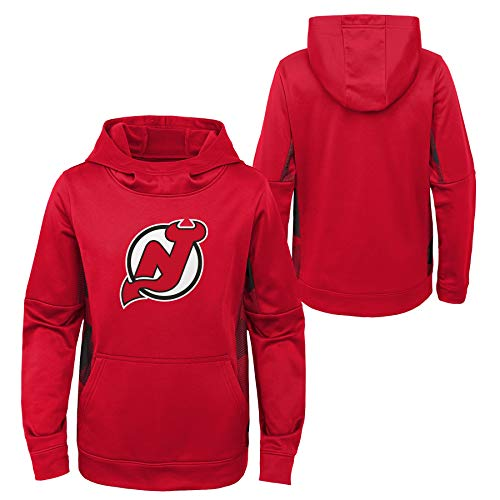 Youth NHL New Jersey Devils Performance Hoodie Youth Sizing (Youth XS (5)) Red