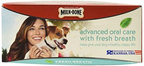 Milk-Bone Fresh Breath Brushing Chews Daily Dental Dog Treats