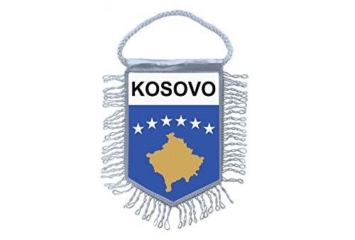 Akachafactory Wimpel Mini Flagge Fahne flaggen miniflagge Kosovo