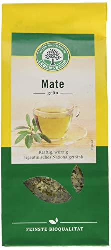 Lebensbaum Kräutertee Lose - Mate (enthält Koffein), Grün, 100 g