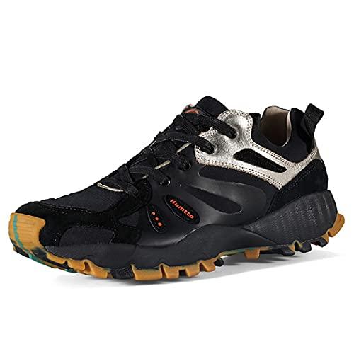 huasa Botas de Senderismo Hombre,Hombre Mujer Impermeables Zapatillas de Senderismo Montaña,Botas de Montaña Antideslizantes Al Aire Libre Zapatos de Deporte,43-Blue