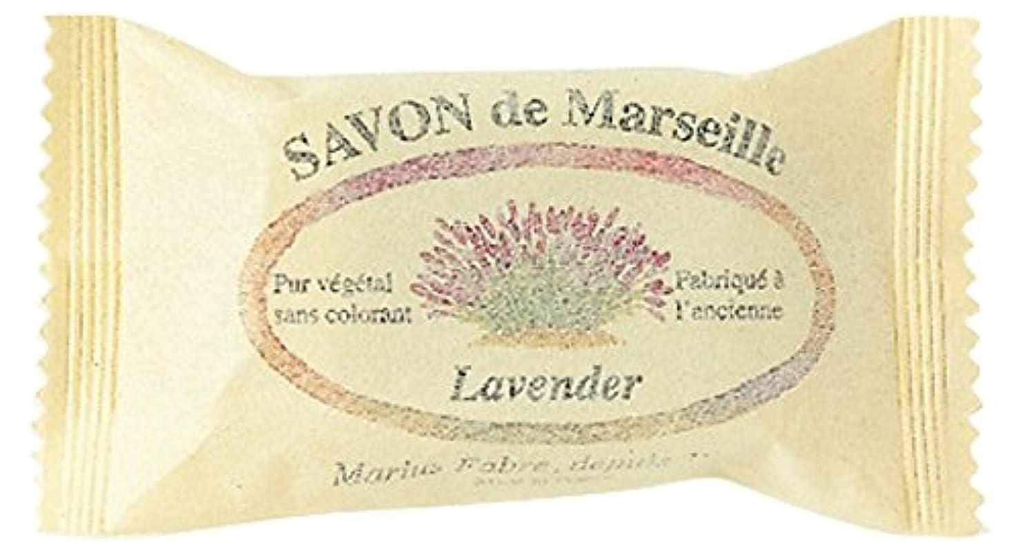 ストレスの多い患者スリットSAVON de Marseille サボンドマルセイユ ラベンダー20g (25個セット)