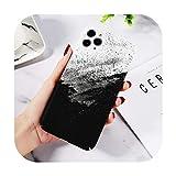 Phonecase - Carcasa para iPhone 11 Pro Max 6 6S 7 8 Plus con textura de piedra de mármol para iPhone Xr X X X Max colorido graffiti duro PC cubierta-T4-para 6Plus o 6S Plus