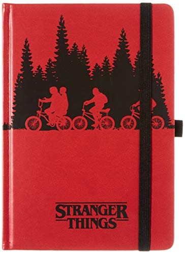 Stranger Things Upside Down - Cuaderno de notas A5