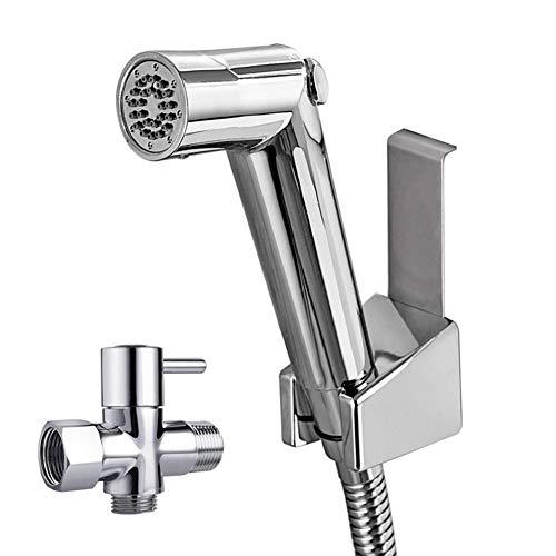 Xyxiaolun Toilette Duschbrause, Gebrauchte Handsprüher Für Körperpflege-Tuch-Windel-Sprüher Easy Druck Control (Einschließlich T-Ventil) Installieren
