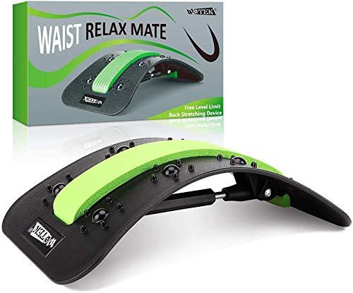BEAU-PRO Rückenstrecker Rückendehner, Einstellbar Back Stretcher Rückenmassage...