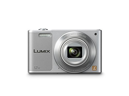 Panasonic LUMIX DMC-SZ10EG-S Style-Kompakt Digitalkamera (12x opt. Zoom, 2,7 Zoll LCD-Display um 180° schwenkbar,WiFi, HD-Videos, Bildstabilisator) silber