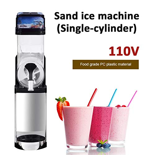 Review Of Slushie Machine,Commercial Slush Maker Machine Frozen Drink Machine Stainless Steel Single...