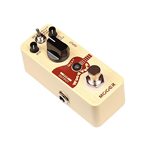 Mooer ME MRV 3 Woodverb Acoustic Reverb Pedal