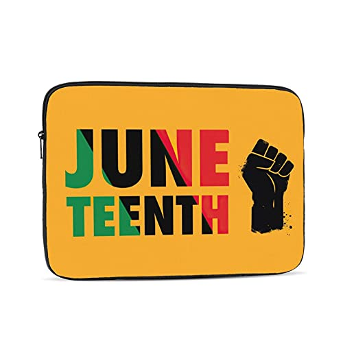 KXT Juneteenth Laptop Sleeve Case,Briefcase Cover Protective Bag,Ultrabook Netbook Carrying Handbag, for Women Men