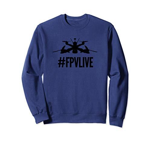 FPVLIFE drone & Quadrocopter Pilot Sweatshirt