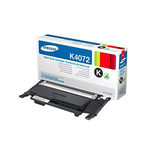 Samsung CLT-K4072S, SU128A, Cartuccia Toner, da 1.500 pagine, compatibile con le stampanti Samsung LaserJet Color serie CLP-320, CLP-325, CLP-325W, CLX-3185, CLX-3185N e CLX-3185FN, Nero