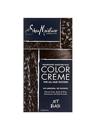 Shea Moisture Nourishing Hair Color Kit, Jet Black