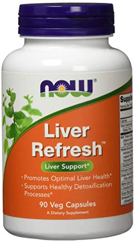 Now Foods Liver Refresh Detoxifier & Regenerator Gesundheit der Leber 90 vegetarische Kapseln