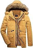 Yozai Men's Winter Coats, Warm Fleece Winter...