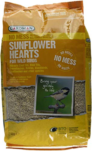 Gardman No Mess Sunflower Hearts for...