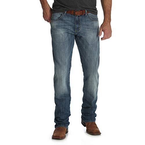 Wrangler Men's Retro Slim Fit Straight Leg Jean, Aberdeen, 40X34