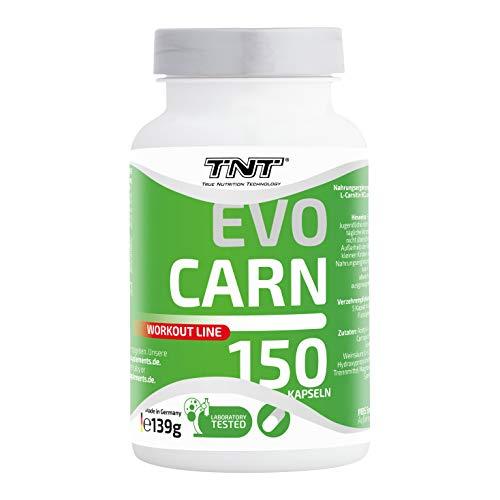 Hochwertige L-Carnitin Kapseln – Reines Carnipure mit 2000 mg L-Carnitin & 2000 mg Acetyl-L-Carnitin / 150 Kapseln