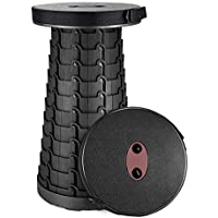 BeMax Portable Folding Telescoping Stool for Indoor and Outdoor Activities