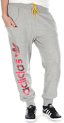 adidas Originals Tartan Baggy Joggingbroek voor dames