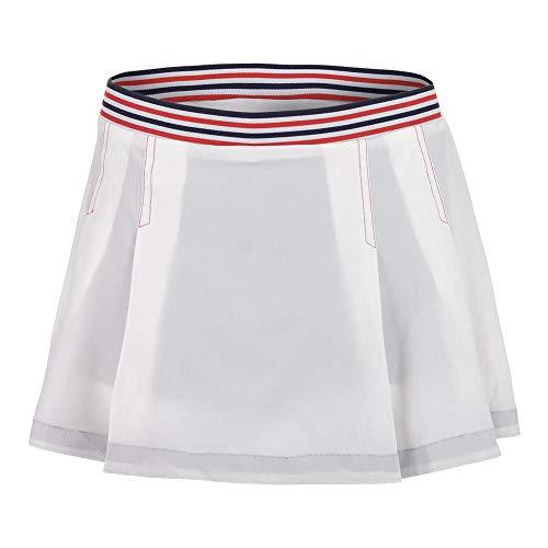 K-Swiss Damen Heritage Skirt Women Röcke, weiß, XS