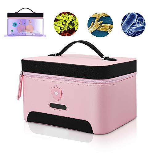 UVC-desinfectiezak Huishoudelijk ondergoed Sterilisator Kiemdodende doos met hoogelastisch samengesteld nylon voor babyfles, speelgoed, telefoon, tandenborstel en bril - één druk om te starten