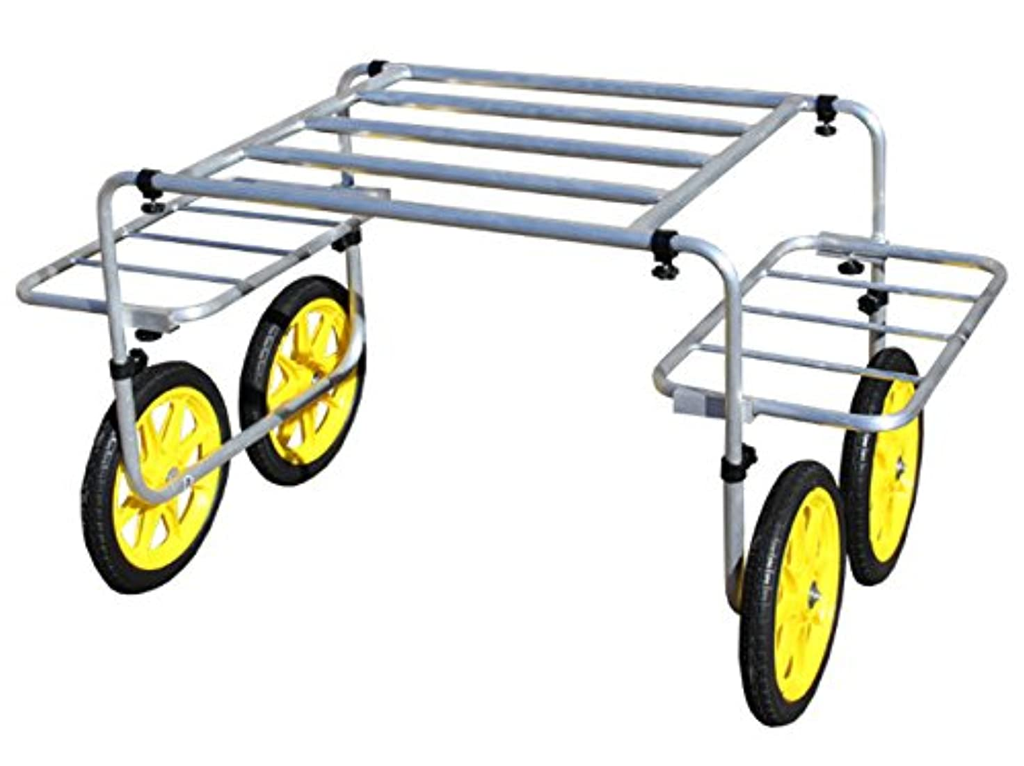 愛人ベルスキャンダルALUMIS 超軽量アルミ製いちご収穫台車