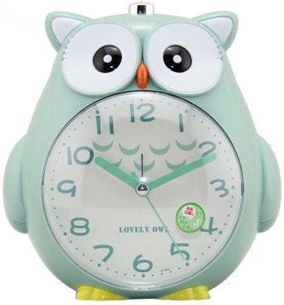 Cute Owl Alarm Clock Colorful Cartoon Alarm Clock Student Alarm Clock Animal Alarm Clock