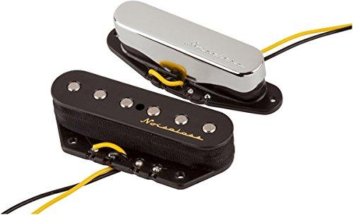 Fender 099-2116-000 Set de recogida de tele vintage Noiseless - Black / Nickel