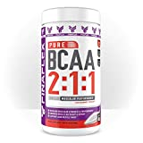 Pure BCAA 2:1:1 Ultimate Muscular Performance, Increase Muscular Strength and Performance, Promotes Muscle Recovery and Repair, Supports Lean Muscle Mass (400 Gram, UNFLAVORED)