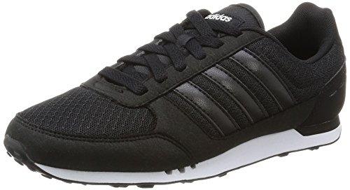 adidas Damen City Racer W AW4951 Sneaker, Schwarz Negbas Negbas Ftwbla, 40 EU