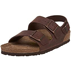 small Birkenstock Milan-Oiled Leather (Unisex) Havana Oiled Leather 40 (Male 7-7.5 years old in the US, Female in the US …