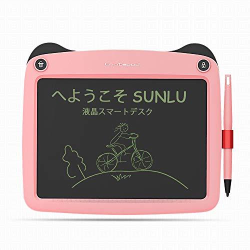 SUNLU Tavoletta Grafica LCD Scrittura Tablet 9 Pollici Digitale Disegno Lavagna Eelettronica LCD Writing Tablet Drawing Board regalo per bambini e adulti (Rosa)