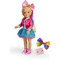 Nancy Colores, Muñeca con Lazos y Stickers para Personalizar niñas a Partir de 3 años (Famosa 700015513)