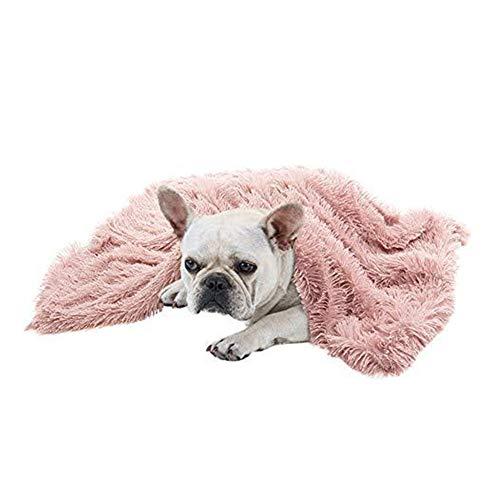 xihan123 Manta para Perros Cómodo Mantas Perros Durable Perros Cama Cama para Perros Desenfundable para Relájate Y Juega Libremente Mejorar El Sueño Mantener Caliente Pink,Medium