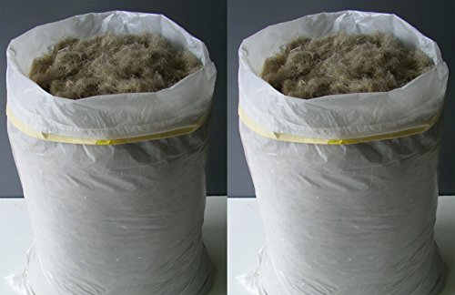 Hanf Stopfwolle 10 kg Dämmstoff Dämmhanf Wärmedämmung Isolation