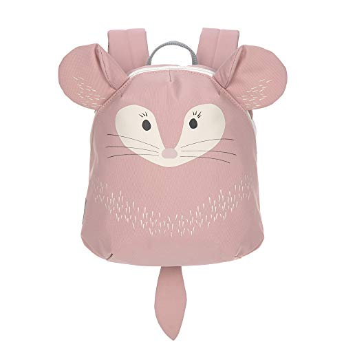 LÄSSIG Kinderrucksack für Kita Kindertasche Krippenrucksack mit Brustgurt/Tiny Backpack, About Friends Chinchilla, 24 cm, 3,3 L