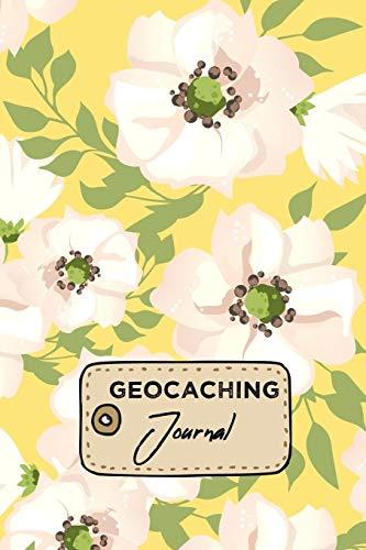 Geocaching Journal: Treasure Hunting Log Book Woodland Flowers Design Cover
