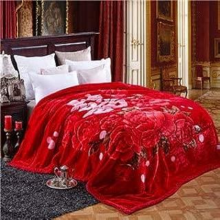 BEESCLOVER Noble Fashion high end Winter Warm Blankets linens Super Soft Raschel Fiber 180x220cm/200x230cm Multifunctional bedsheet 20161955 200x230cm